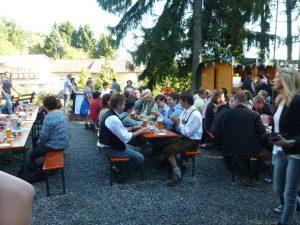 Bayerisches Frühstück im Ferienpark Hesselhof
