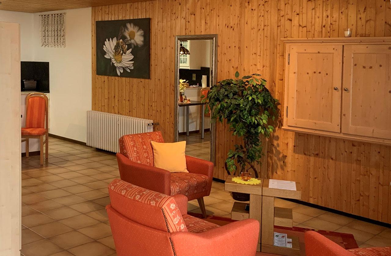 Ferienwohnung Gänseblümchen (Foto 02). Ferienpark Hesselhof - Ferienwohnungen und Wellnessanlage in Rimbach, Odenwald