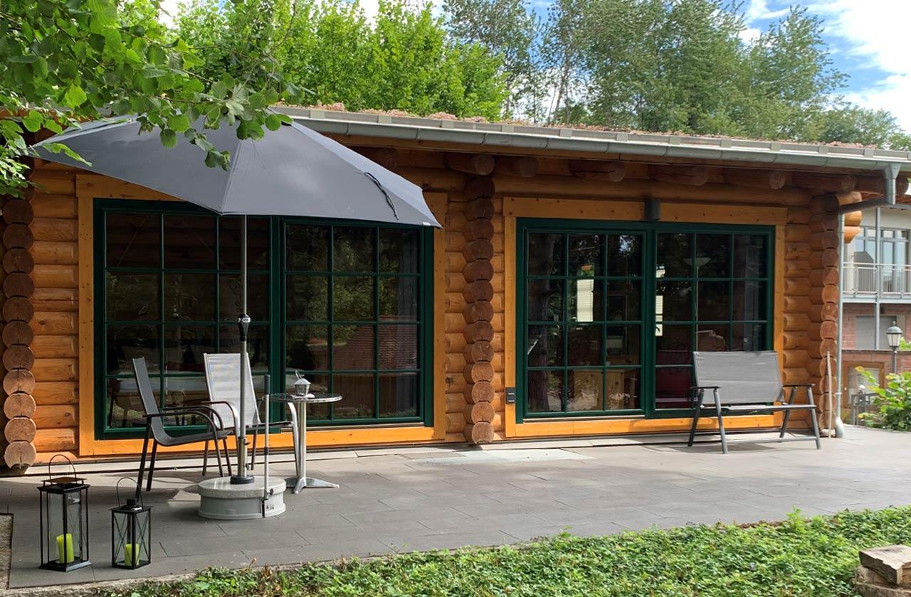 Ferienwohnung Rosenhaus (Foto 03). Ferienpark Hesselhof - Ferienwohnungen und Wellnessanlage in Rimbach, Odenwald