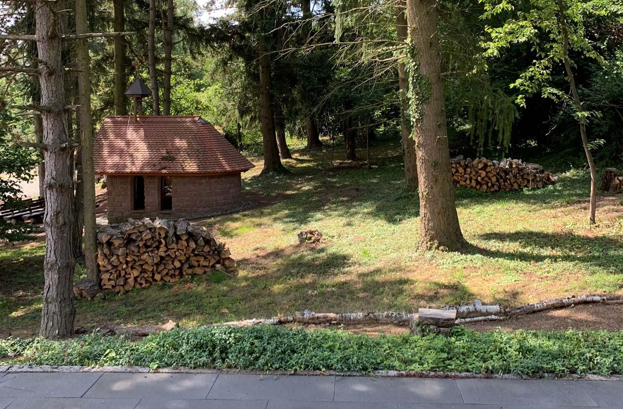 Ferienwohnung Rosenhaus (Foto 04). Ferienpark Hesselhof - Ferienwohnungen und Wellnessanlage in Rimbach, Odenwald