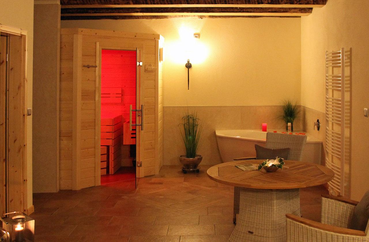 Ferienwohnung Rosenhaus (Foto 10). Ferienpark Hesselhof - Ferienwohnungen und Wellnessanlage in Rimbach, Odenwald